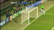 Тупалка на Боатенг - Милан - Арсенал 15.02.2012