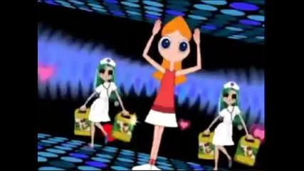 Phineas Ferb caramelldansen