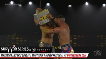 Dominik Dijakovic vs. Adam Cole: Men's WarGames Advantage Ladder Match: WWE NXT, Nov. 20, 2019