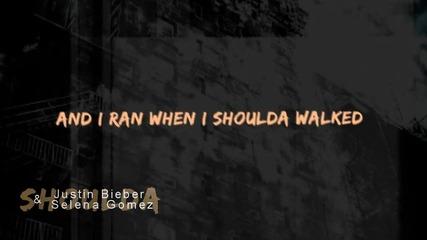 """"""" Вървях, когато трябваше да бягам . ."""" + Justin & Selena"""