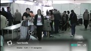 Припаднали хора на опашките в РИК-Пловдив- Здавей, България (06.10.2014)
