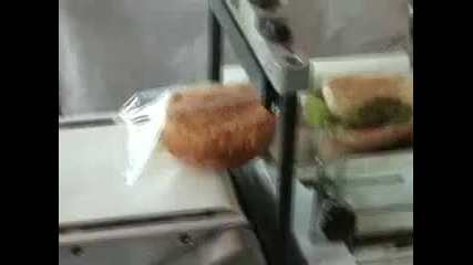 Машина за опаковане на сандвичи и закуски с дискретно действие - ф. Хранпак