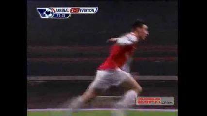 Arsenal 2 - 1 Everton High