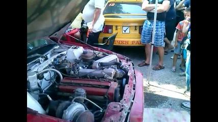 форсиране на Audi Quattro