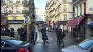 France: Knifeman shot dead by officers outside Paris police station