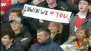 Ван Дер Сар довиждане !! Едвин ван дер сар се сбогува с феновете на Юнайтед!