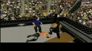 Summerslam 2008 - Part 13 - Hell In A Cell Match (2 - 3)