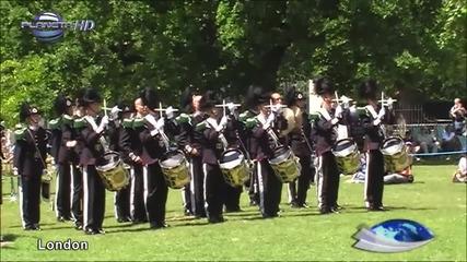 Парад в Лондон