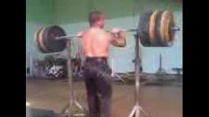 Vdigane Na Tejesti Klek S 200kg Na G1rdi