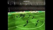 Fifa 09 - Фантастичен гол на G. Milito