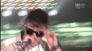 M.i.b - Only hard for me @ Inkigayo (22.07.2012)