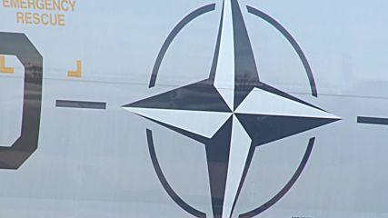 Lithuania: NATO AWACS reconnaissance aircraft lands in Siauliai