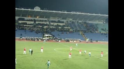 Атаката и втория гол на Безяк: Лудогорец - Псв Айндховен 2:0