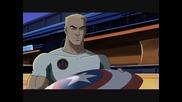 Култовият герой Стив Роджърс / Капитан Америка от анимациите Върховни Отмъстители 1 и 2 (2006)
