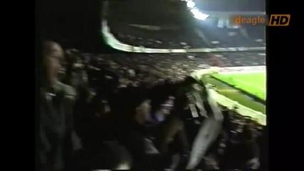 Неизлъчвани досега кадри от мача между Франция и България - 1993
