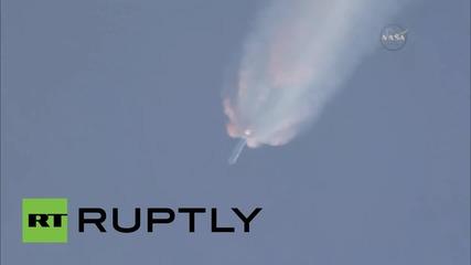 USA: ракетата Falcon 9 се взриви минути след изстрелването