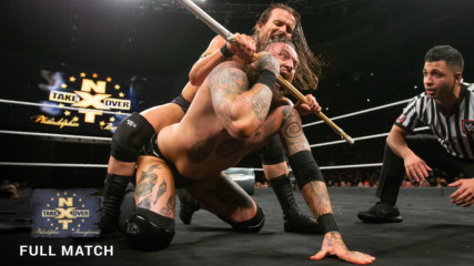 Aleister Black vs. Adam Cole - Extreme Rules Match: NXT TakeOver: Philadelphia 2018 (Full Match - WWE Network Exclusive)