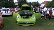 Germany: VW Beetle enthusiasts gather in Travemuende for Sunshine Tour 2016
