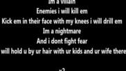 Blank - Im A Villain Lyrics