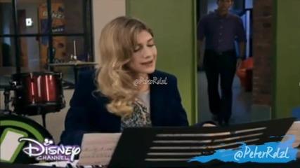 "Violetta 3: Анджи и Херман пеят ""habla si puedes"""