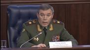 Russia: 30-40 daily strikes supporting FSA anti-militant operation - Gerasimov