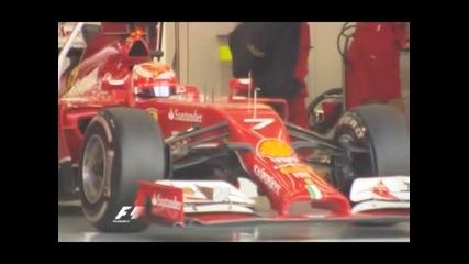 Маса беше най–бърз в третия ден от тестовете в Бахрейн