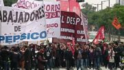 Argentina: Former PepsiCo workers clash with police in protest over factory's closure