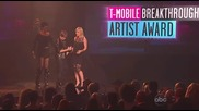 Justin Bieber спечели награда за breakthrough artist