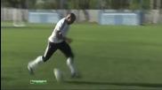Роберто карлош прави спиращо дъха изпълнение по време на тренировка
