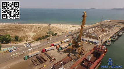 Видеозаснемане с дрон - Пристанище Бургас