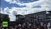 Canada: Topless protesters defend women's right to bare breasts *EXPLICIT*