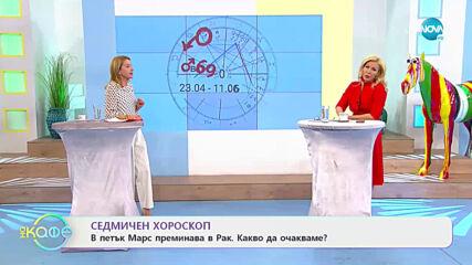 Седмичен хороскоп - На кафе (19.04.2021)