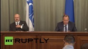 Russia: 'Flirting with terrorists' must stop for Moscow to coordinate with US in Syria - Lavrov