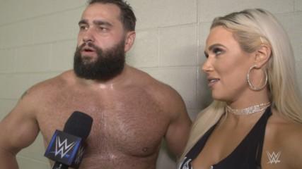 Rusev & Lana debate the merits of cheating as they reflect on WWE MMC