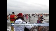 Хиляди канадци се включиха в ледена баня за настъпването на Нова година