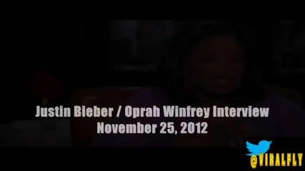 Ето го и обещаното интервю Опра и Джъстин 25.11.12