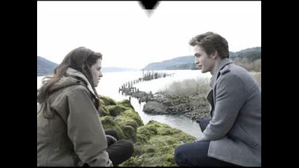 Bella and Edward ( Kristen & Rob ) :]