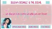 Selena Gomez - A Year Without Rain Lyrics (espa