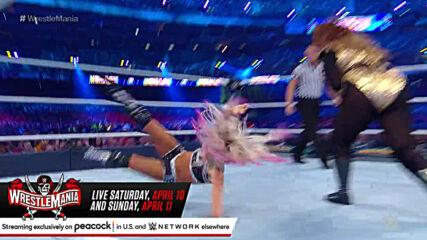 Alexa Bliss vs. Nia Jax - Raw Women's Title Match: WrestleMania 34 (Full Match)