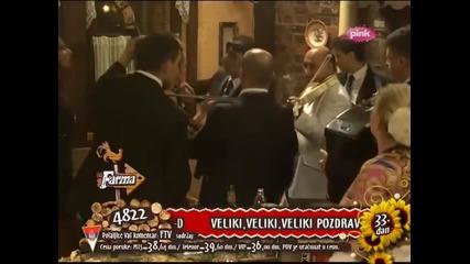 Mile Kitic i Goca Bozinovska - Smejem se, a place mi se - (LIVE) - Farma 4 - (TV Pink 2013)