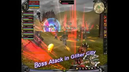 Shaiya - Boss Attack in Gliter