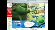Реклама - Pepsi Twist Light Плаж
