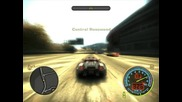 Need For Speed Most Wanted - My top speed - Porsche Carerra Gt