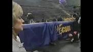 Trish & Vince Mcmahon - Wrestle Mania