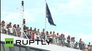 """Гърция: Остров Кос """"успокоява"""" кризата като прехвърля хиляди емигранти в Атина"""