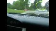 Audi A6 Quattro Прави Дрифт На Кръгово