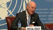 Switzerland: Syrian ceasefire 'in great danger' of collapsing - UN's de Mistura