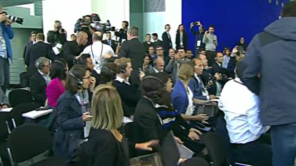 Germany: Heckler dragged out of Erdogan-Merkel presser