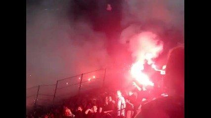 Paok - aris Play off Gate 4 Supporters !!!