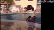 Гафове в басейна - Минутка смях